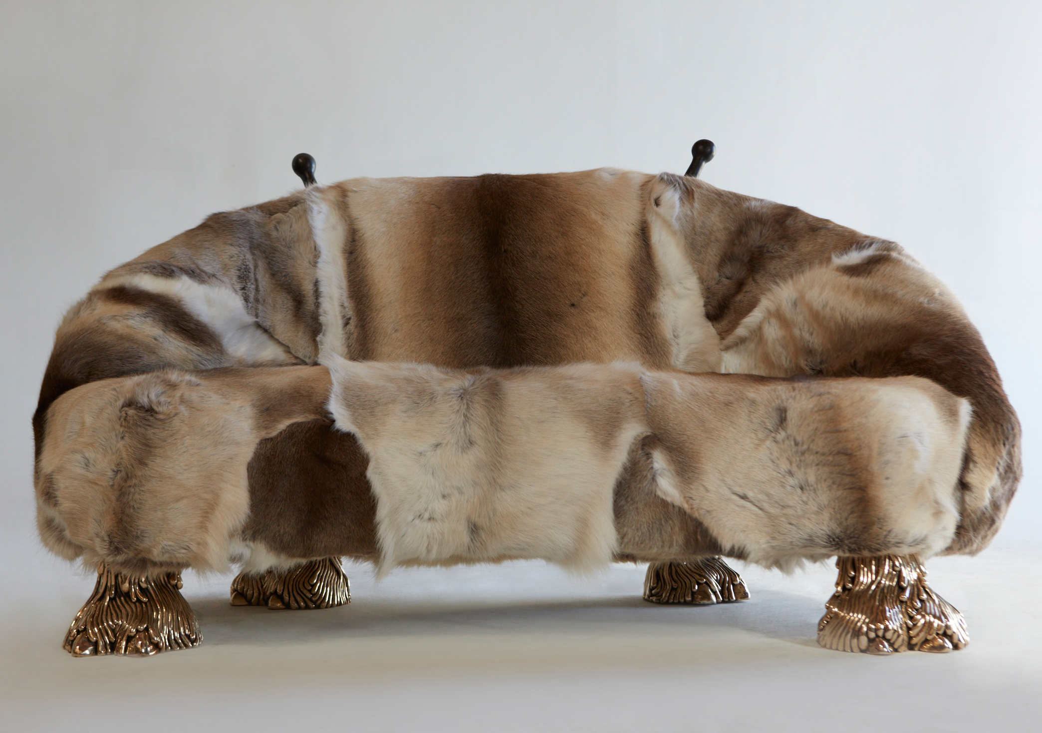 Quote Haas Brothers Brown Fur Sofa