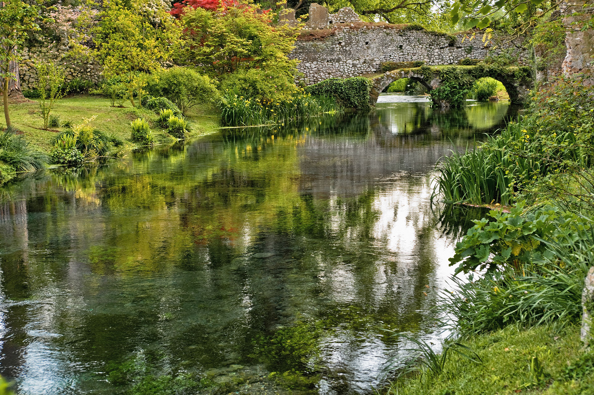 giardini di ninfa i pi bei giardini del mondo