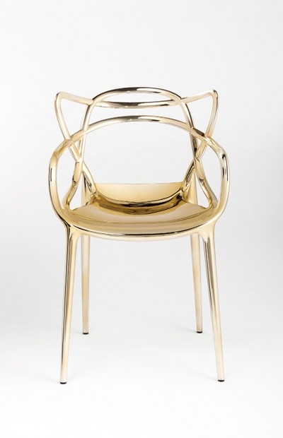Kartell Masters philippe Starck Gold Chair