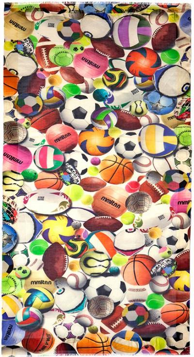 _Foulard_balls_sport_Faliero Sarti_Swing