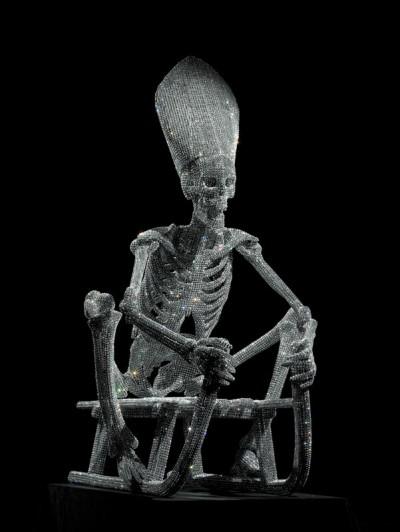 NicolaBolla_Swarovski skeleton on sledge