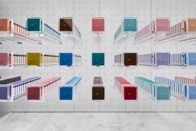 Oltre alle tavolette la linea di cioccolati BbyB comprende praline, caramelle, marmellate, marshmallow e creme. Foto Daici Ano