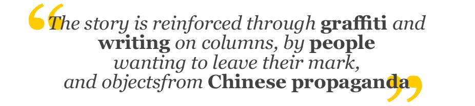 Quote_Mott Chinese propaganda graffiti