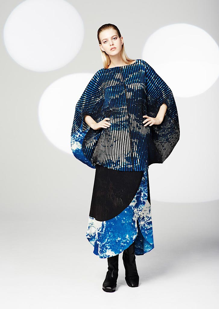 Clothing By Baking It In An Oven By Issey Miyake: Galactic Pre/Fall