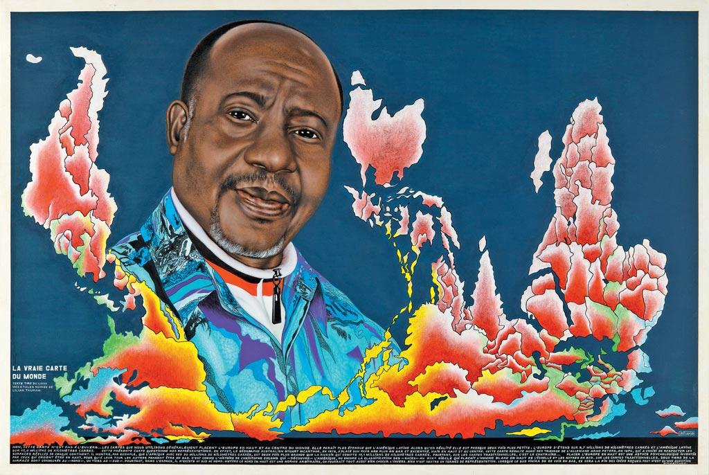 """L'esposizione """"Beauté Congo – 1926-2015 – Congo Kitoko"""", a cura diAndré Magnin, ripercorre quasi un secolo di storia dell'arte congolese"""