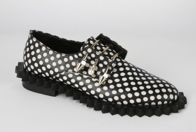 Coliac black pois shoes