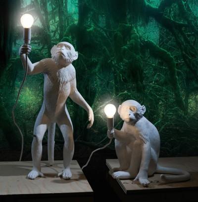 Monkey Lamp, Marcantonio Raimondi Malerba
