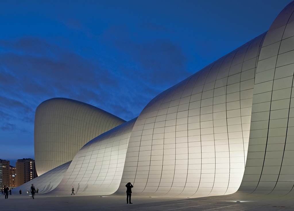 Heydar Aliyev Centre, Azerbaijan