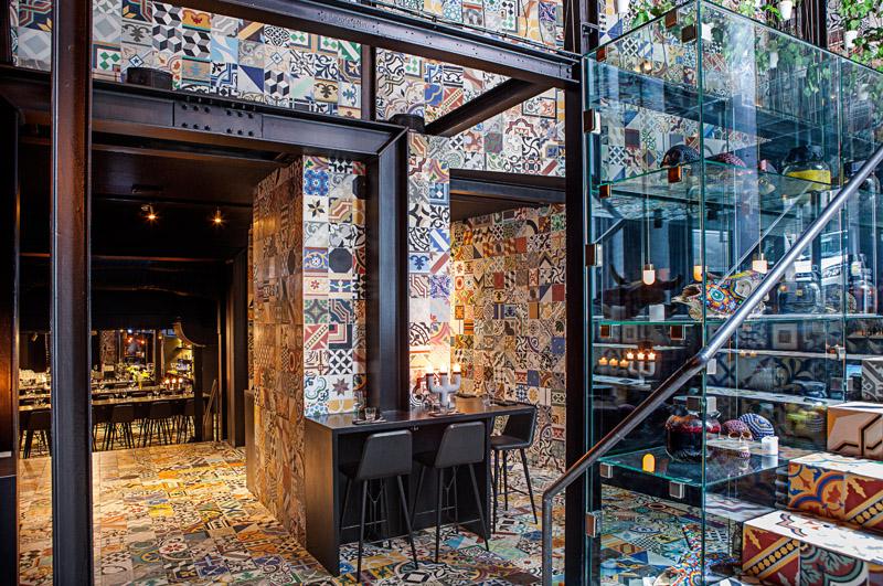 Llama Restaurant Interior Design