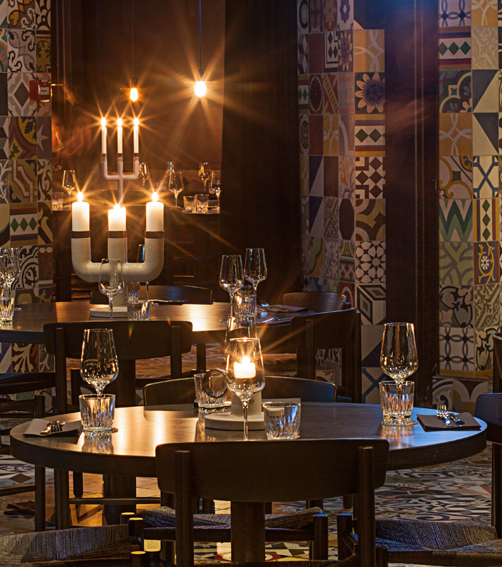 Llama Restaurant Copenhagen interior
