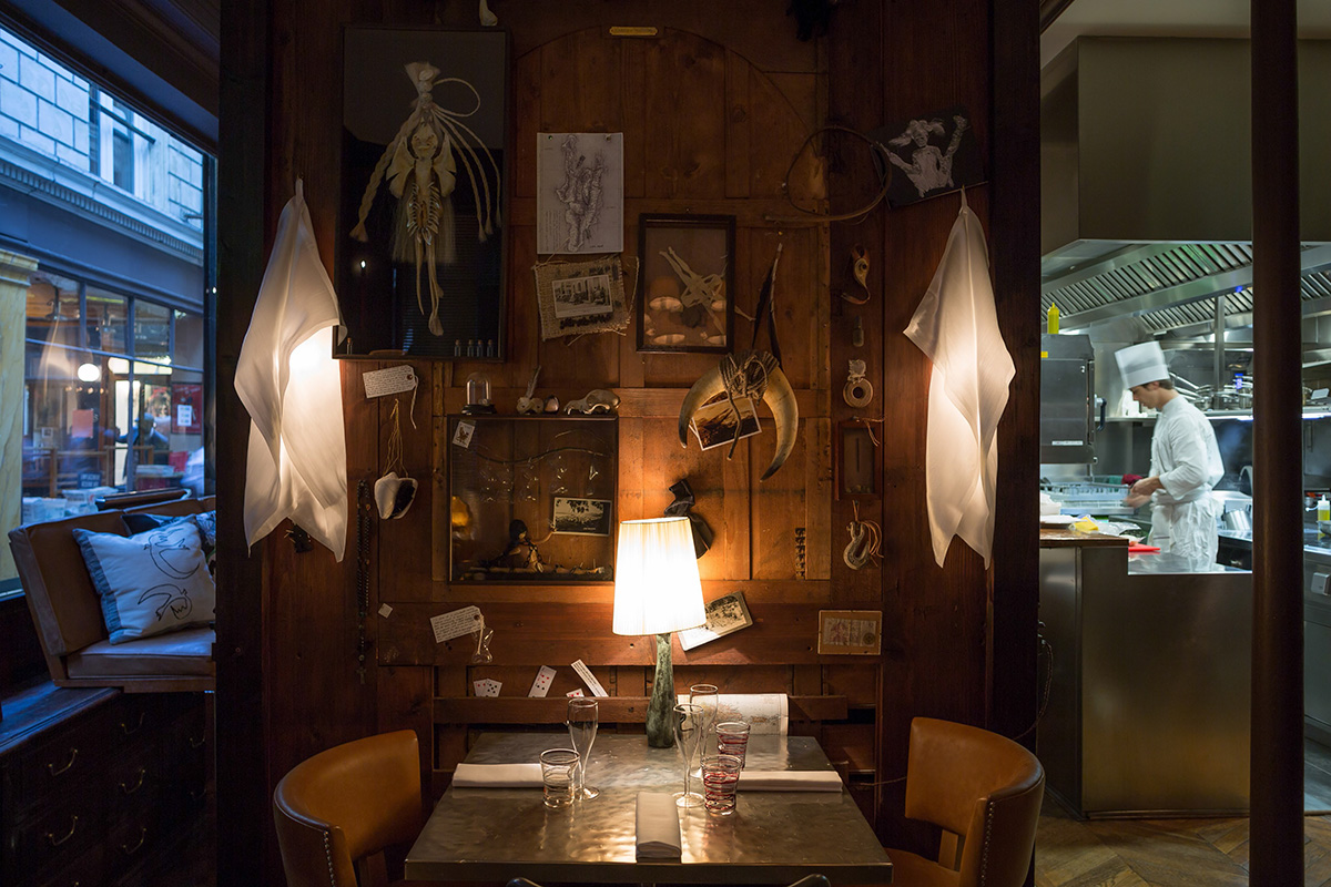 interior of the Cafè Stern, Paris