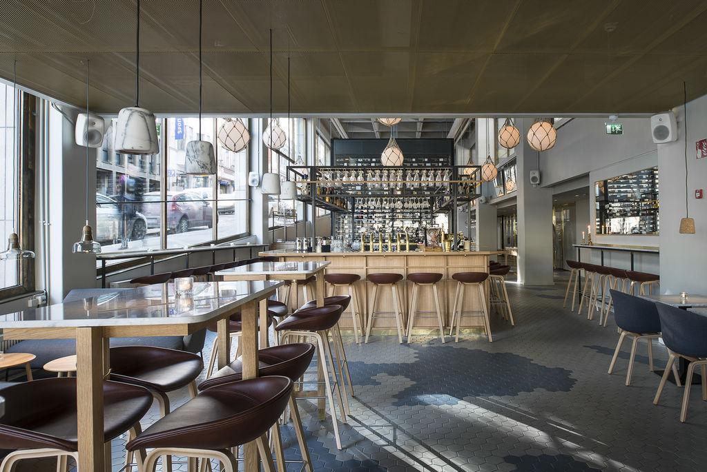 Bronda restaurant interior design