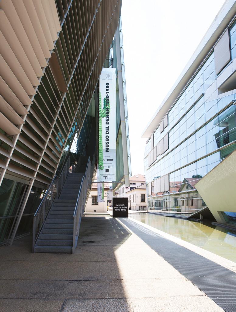 external view of Design Museum in Milano