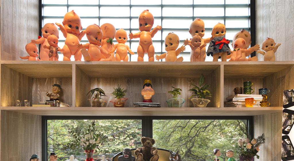 Dolls in Gardern 27 store, Shangai