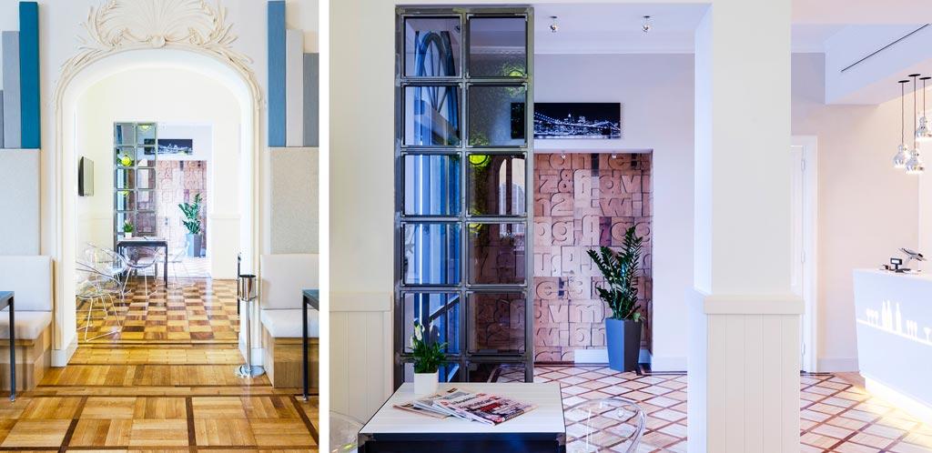 Il restauro ha comportato una parziale risuddivisione degli spazi interni. Per gli affreschi è stato chiamato un team di restauratori d'arte. Foto Elia Barbieri