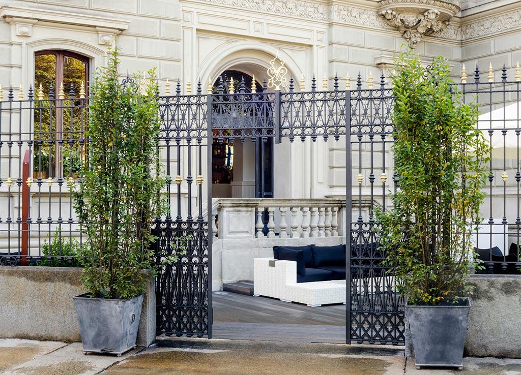 Villa Vela si trova all'interno di una magnifica villa ottocentesca, restaurata in ottica conservativa si progetto dello studio Isacco Brioschi. Foto Elia Barbieri