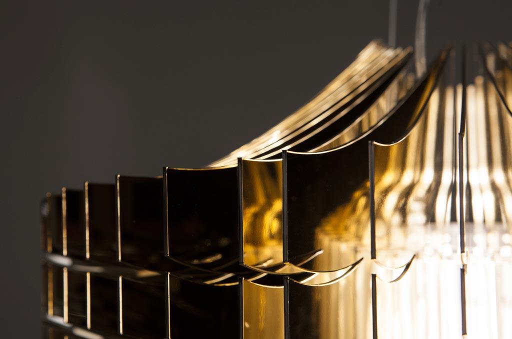 detail aria gold